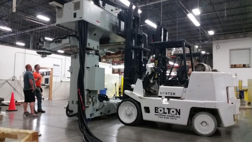 moving heavy machinery